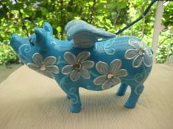 Kleines Sparschwein mit Flügeln_1