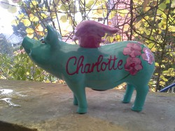 Sparschwein für Charlotte