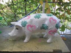 Sparschwein zur Geburt