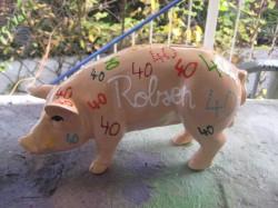 Sparschwein zum 40. Geburtstag_1