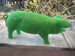 Grünes Sparschwein zur Hochzeit_2