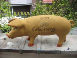 Sparschwein mit Briefschlitz zum Geburtstag_1