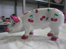 Sparschwein mit Kirschen_1